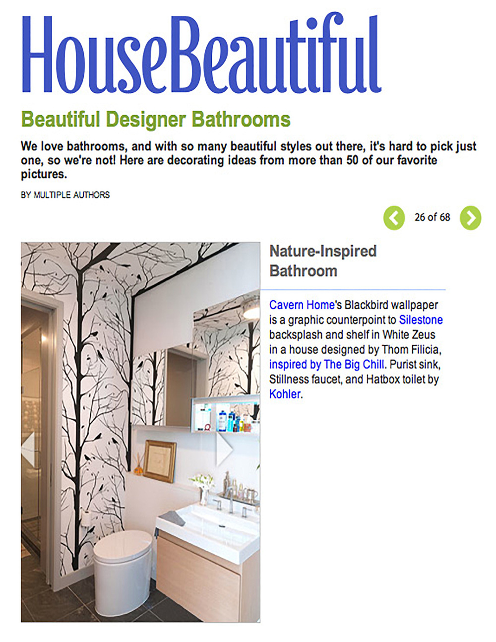 House Beautiful August 2012