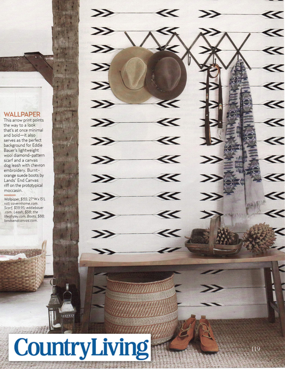 Country Living October 2011