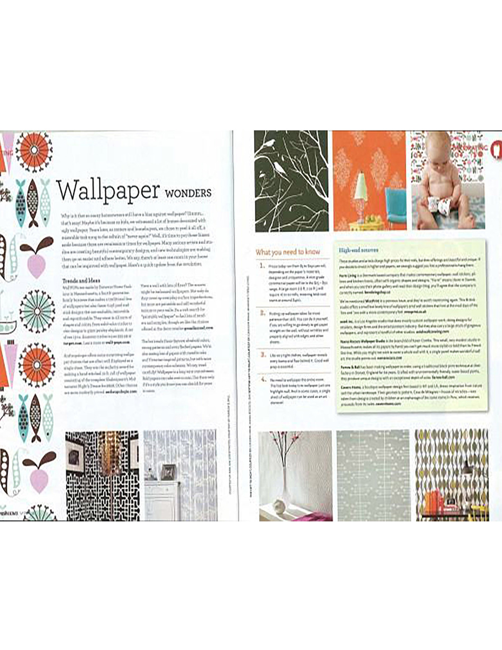 Wallpaper Projects April 2009