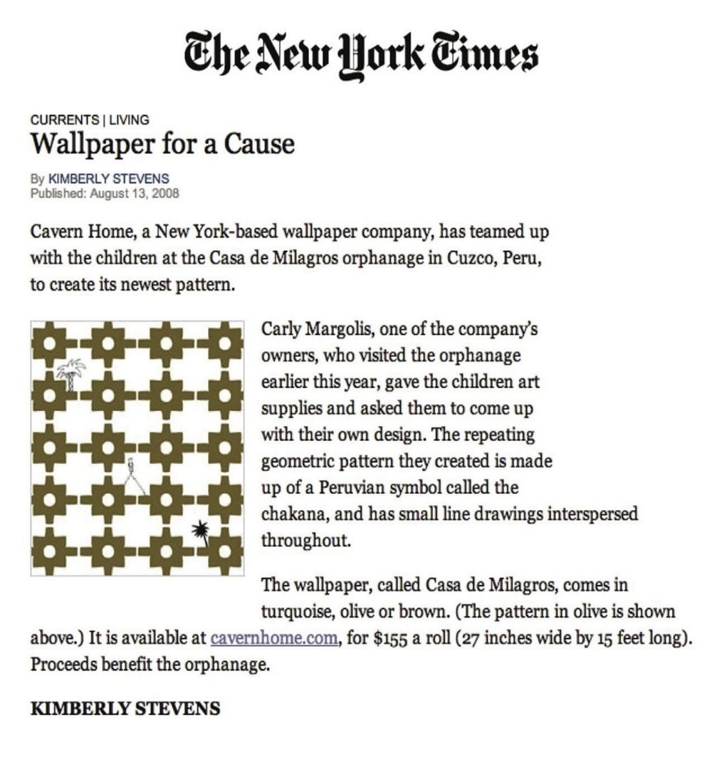 New York Times August 2008