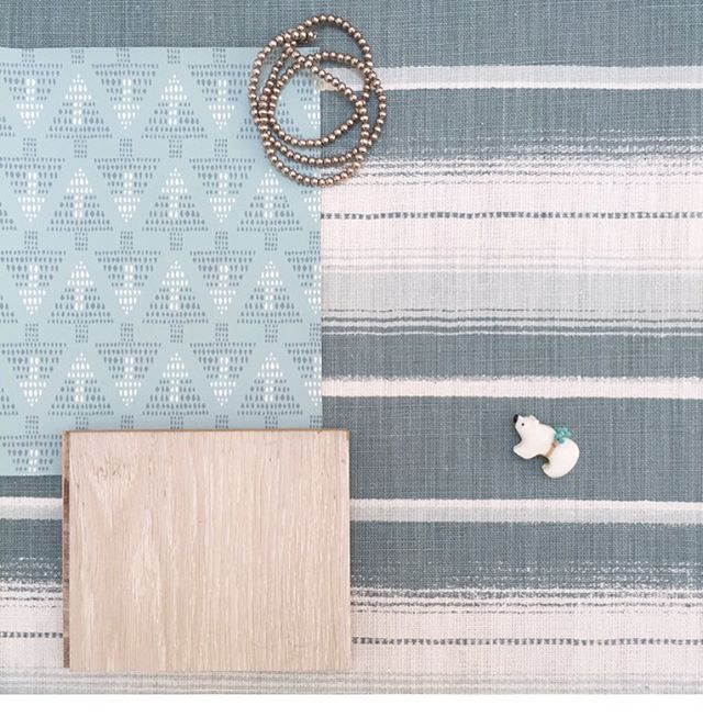 Digging this customer's bedroom scheme 🙌 Serape fabric and Talisman wallpaper 💠🔼💎