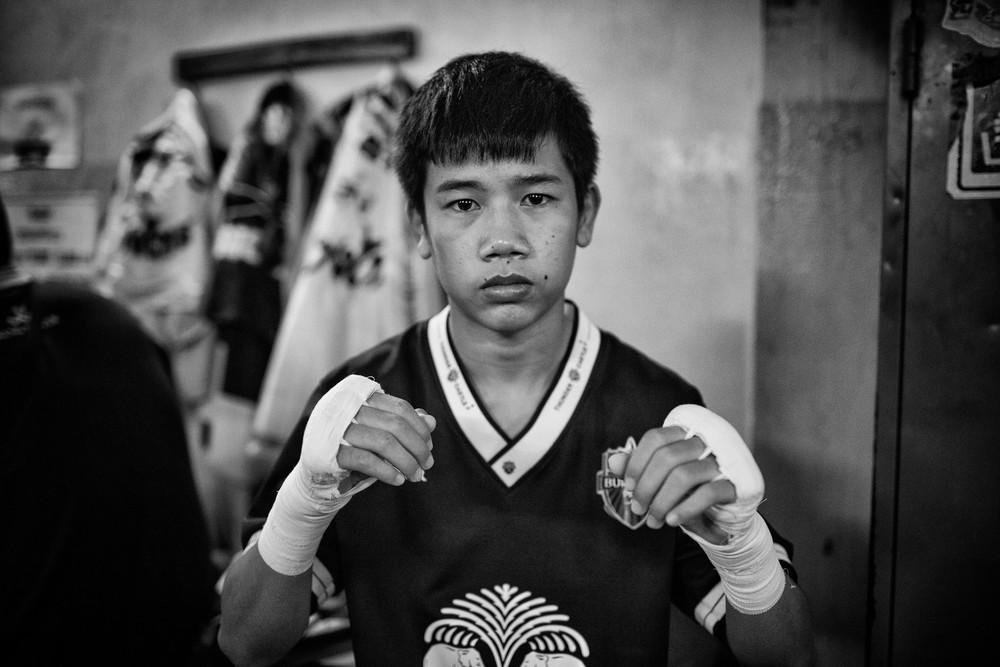 Si certains jeunes combattent pour la passion du sport, d'autres se retrouvent au coeur d'un business lucratif au profit d'entraineurs, subissant brimades et coupsen cas de défaite.