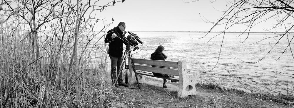 Au bord du St-Laurent avec Perrine Leblanc, écrivaine.