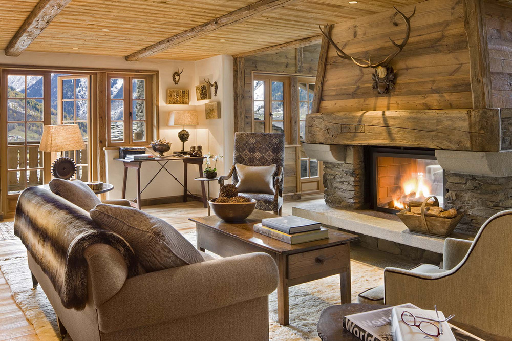 Chalet Pelerin in the picturesque French village of Le Miroir