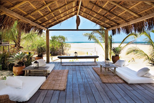 Casa Uxua, Brazil  In the Bahian beach town of Trancoso lies Casa Uxua, a rustic, effortlessly laid-back escape from reality. Each of the 10 individual casas are designed with local ceramics and wood carvings, carefully curated by the Dutch designer-owner Wilbert Das. Uxua whisks you to a care-free world where walking barefoot and lounging in the warm ocean breeze become your daily routine.