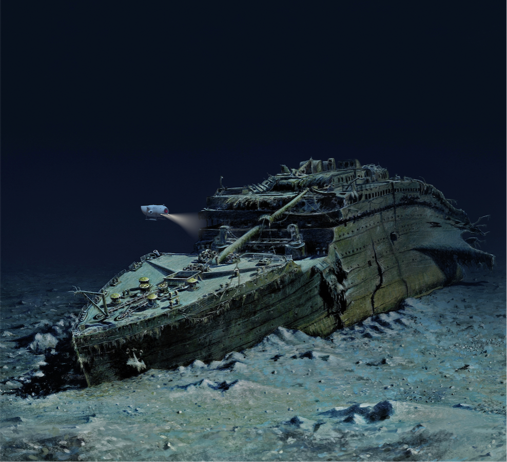 An epic expedition to dive the Titanic