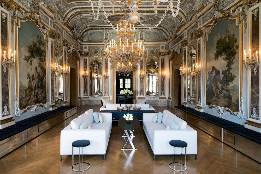 The city secret: Aman Venice    Set in a 16th-century palazzo on Venice's Grand Canal, Aman Venice is as romantic & historical as the city itself. Housing original Tiepolo frescoes framed by gilded ceilings and Rococo décor, this grandiose mansion is an opulent jewel on Venice's sparkling Grand Canal. The hidden jetty entrance, private garden and 26 pastel-hued ornate guest rooms retain the intimacy of a private palazzo with all the comforts of an indulgent Aman.