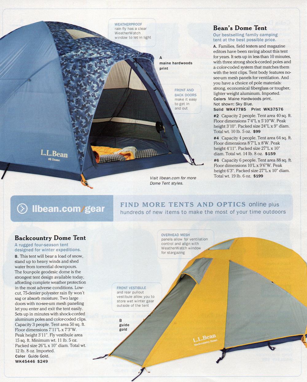 Dome u0026&; Backcountry Tents  sc 1 st  nomad design works & L.L. Bean u2014 NOMAD