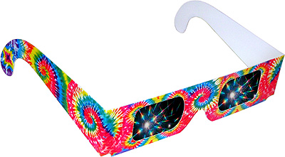Tie Dye Rainbow Glasses Shop Here