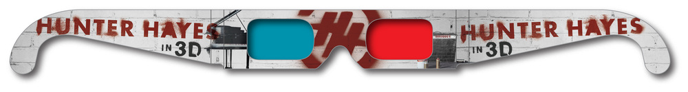hunter_hayes_custom_anaglyph_glasses
