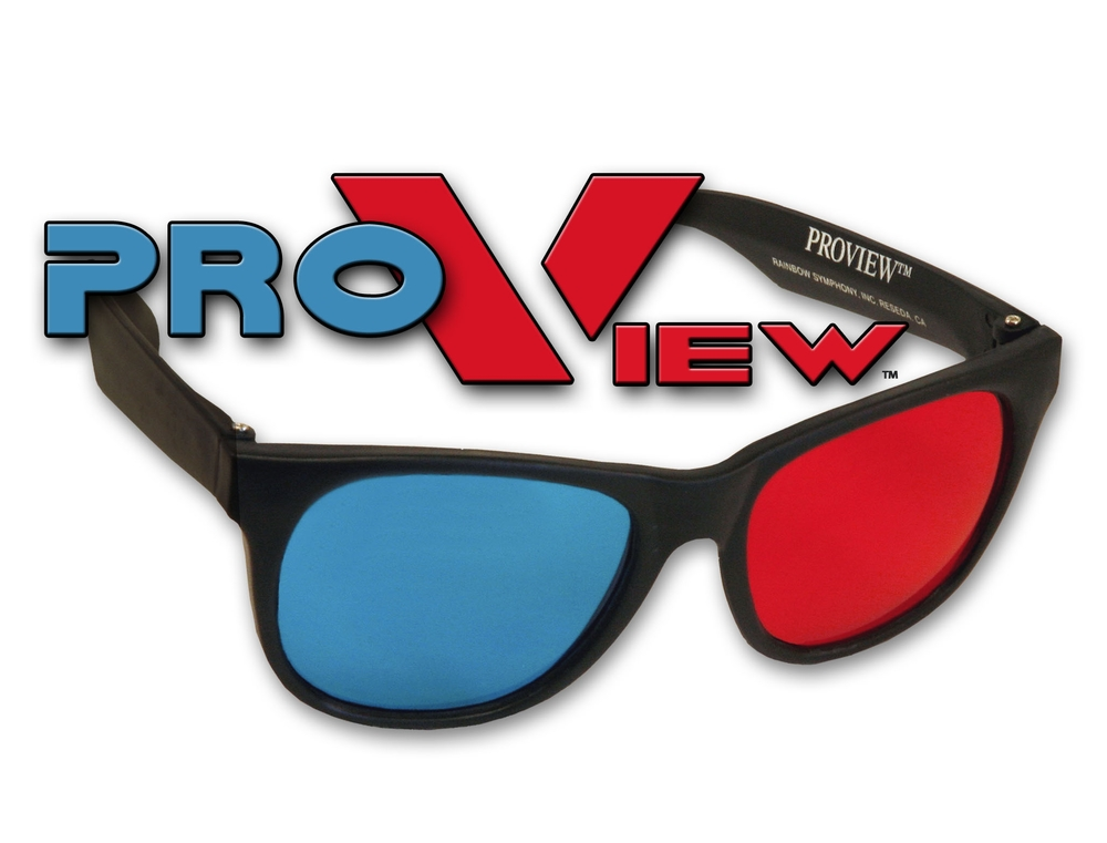 Plastic ProView 3D Glasses Shop Here