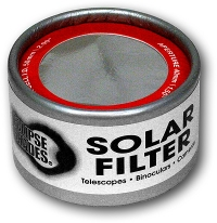 50mm Solar Filter Aluminized Mylar Shop Here