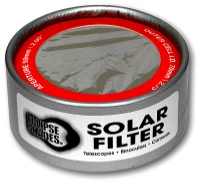 70mm Solar Filter Aluminized Myler Shop Here