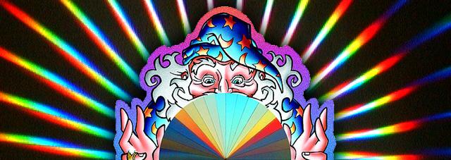 Rainbow Wizard Sun Catcher