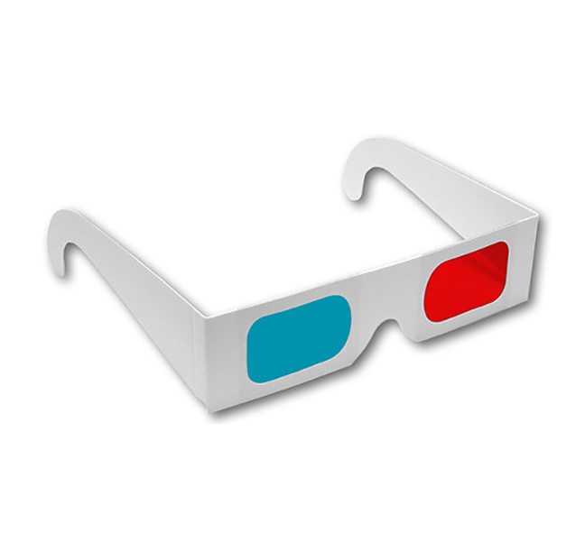Paper Red/Cyan 3D Glasses Shop Here