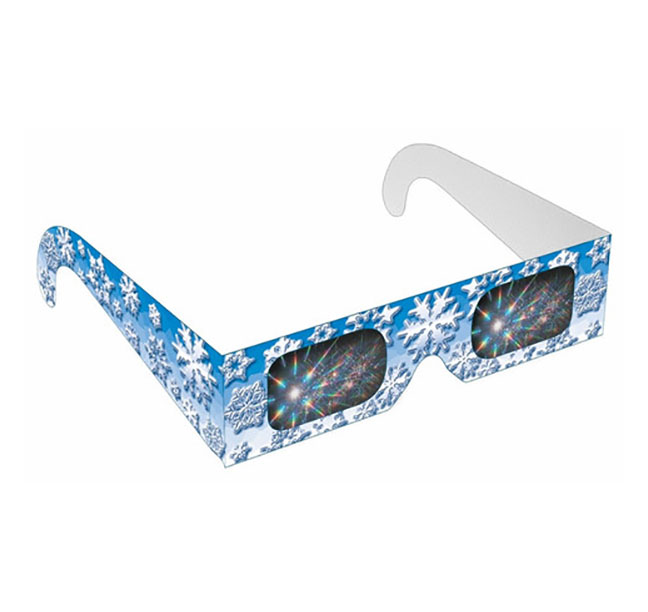 Winter Snow Flake Rainbow Glasses Shop Here