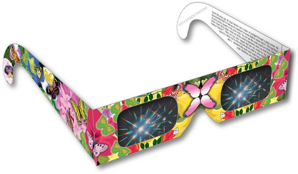 Butterfly Rainbow Glasses Shop Here