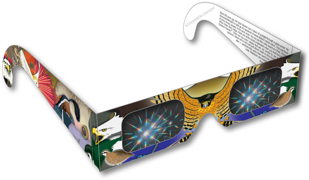 Birds of Prey Rainbow Glasses Shop Here