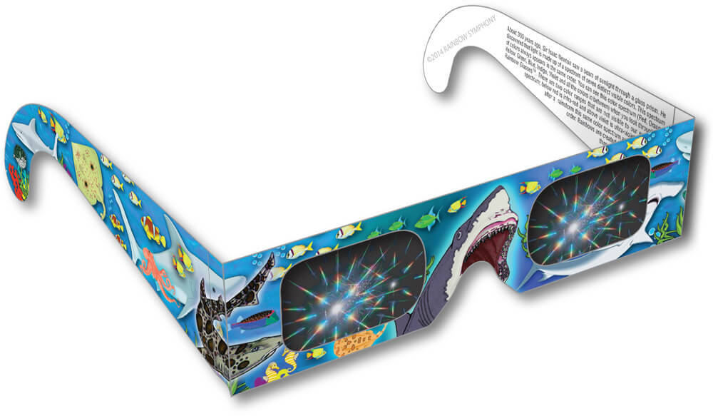 Shark Rainbow Glasses Shop Here