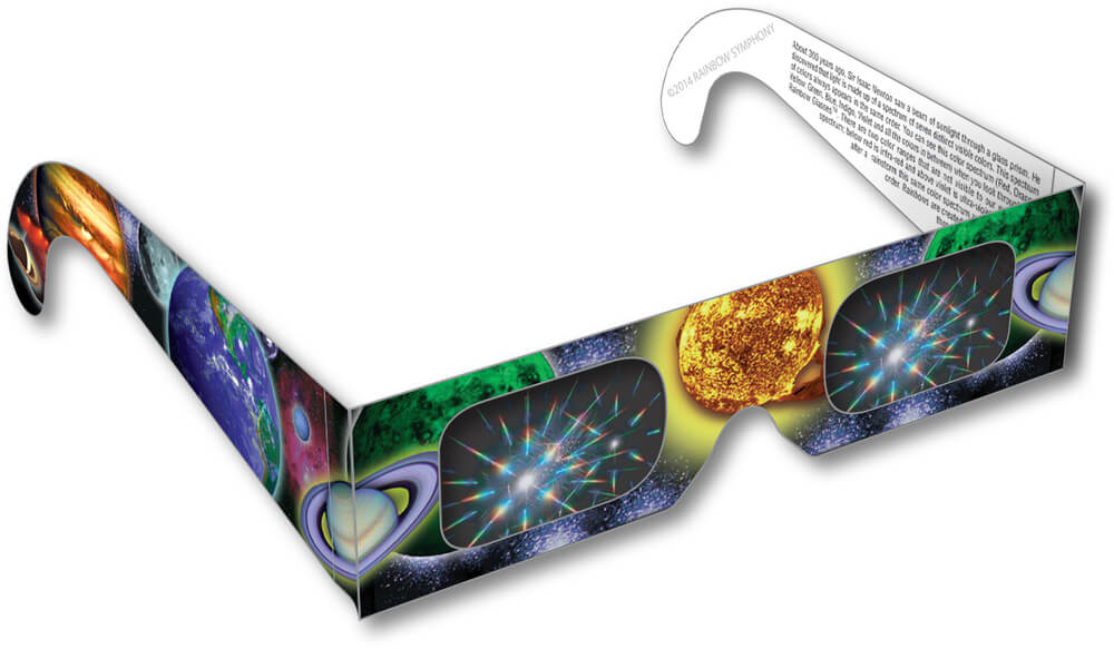 Planet & Sun Rainbow Glasses  Shop Here