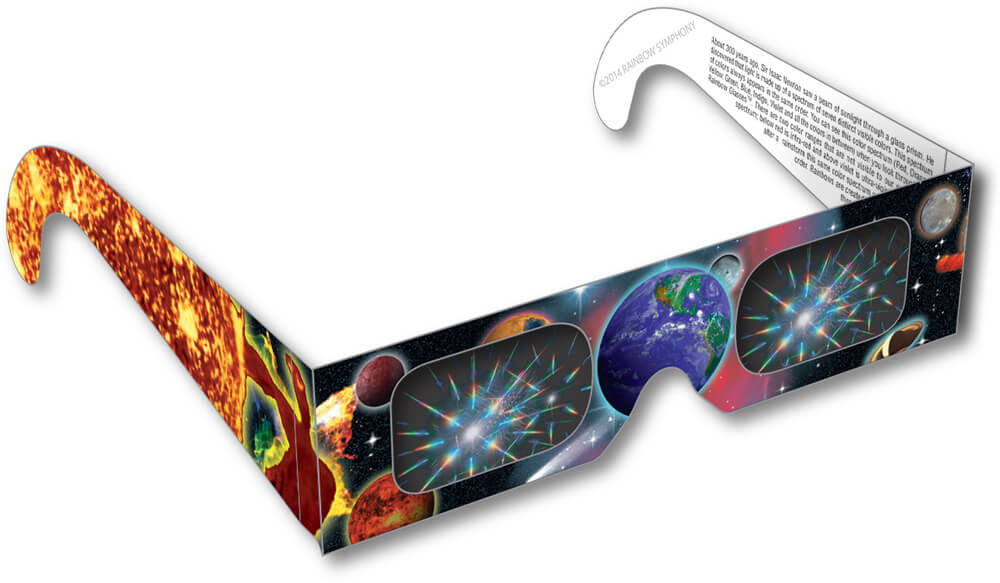 Planet & Earth Rainbow Glasses Shop Here