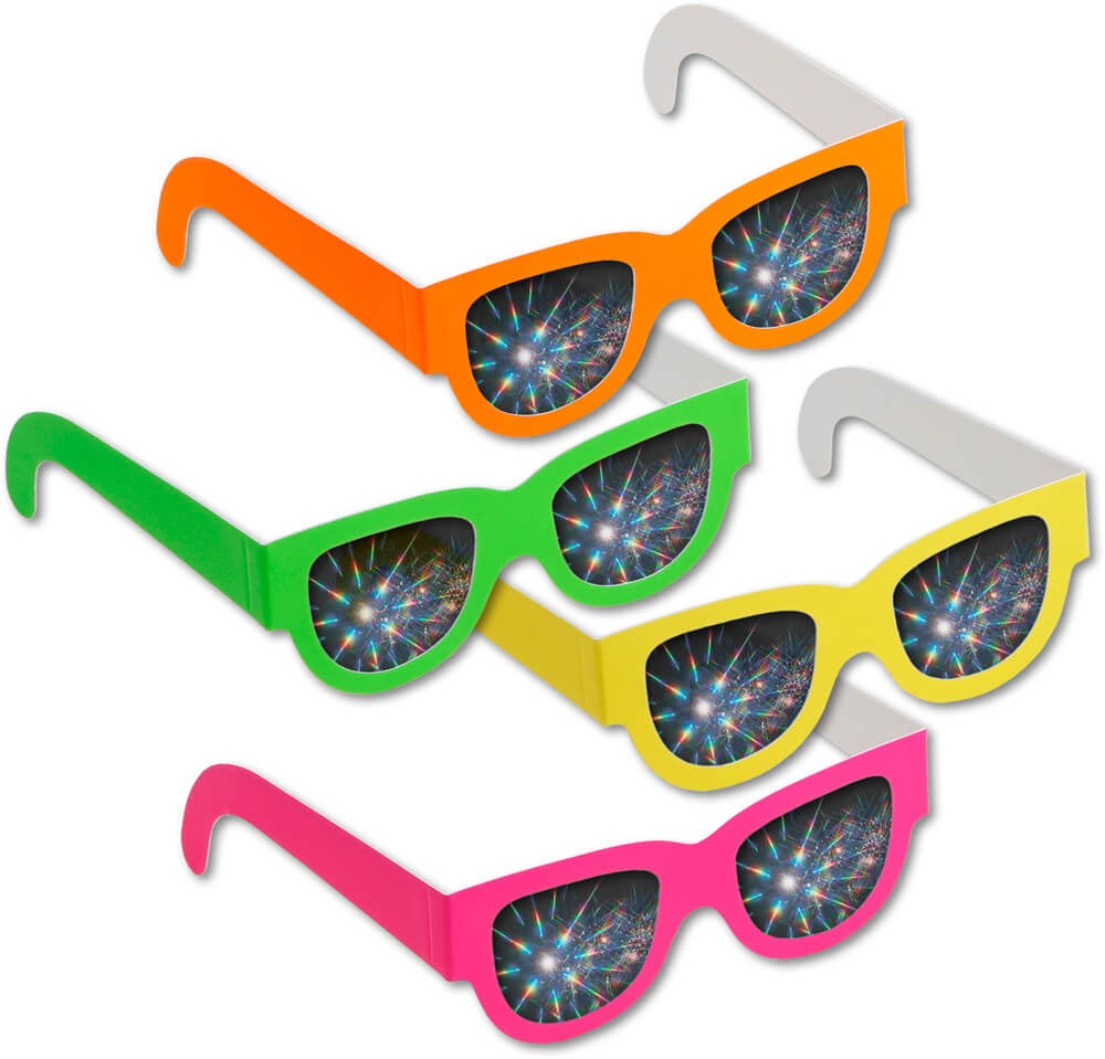 Wayfarer Style Rave Glasses     Shop Here