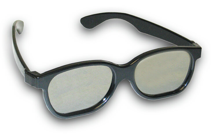 Plastic Circular and Linear Polarized 3D Glasses Shop Here
