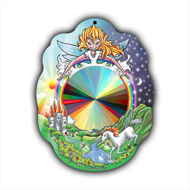 Rainbow Fairy Sun Catcher   Shop Here