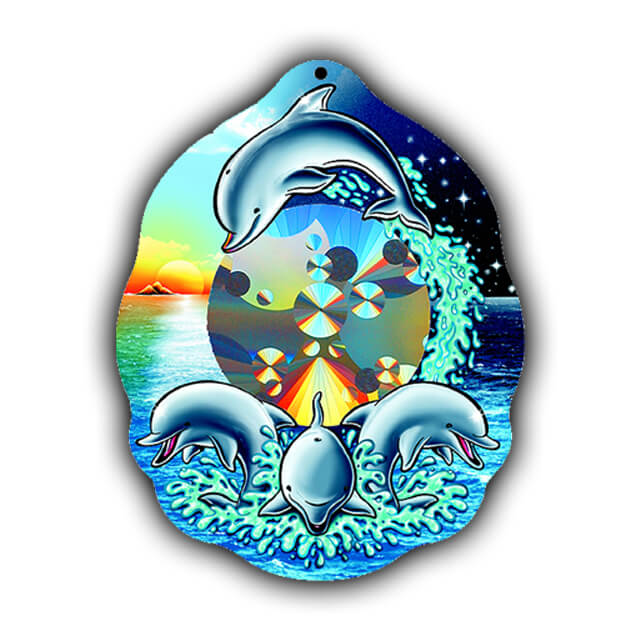 Rainbow Dolphin Sun Catcher   Shop Here