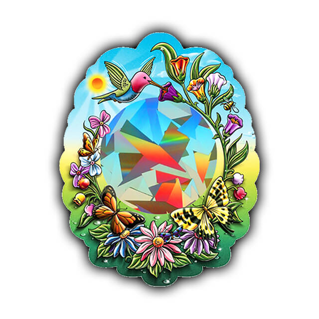 Rainbow Hummingbird Sun Catcher   Shop Here