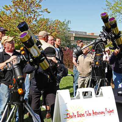 Array of solar telescopes