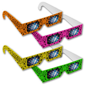 .Assorted Neon Lazer Viewers Shop Here