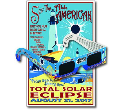 Sea to Shining Sea - Safe Solar Glasses - Limited Edition Poster 07107  Shop Here