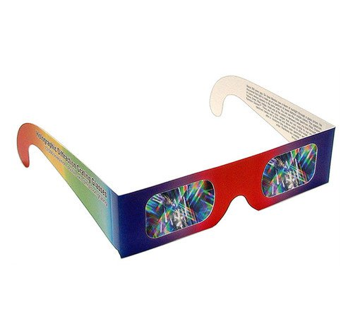 Educational Diffraction Grating Glasses Shop Here