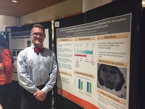 2-6-18 Robert Ledbetter selected out of over 4,000 students to present his work at the National Conference on Undergraduate Research. Congratulations Rob! -