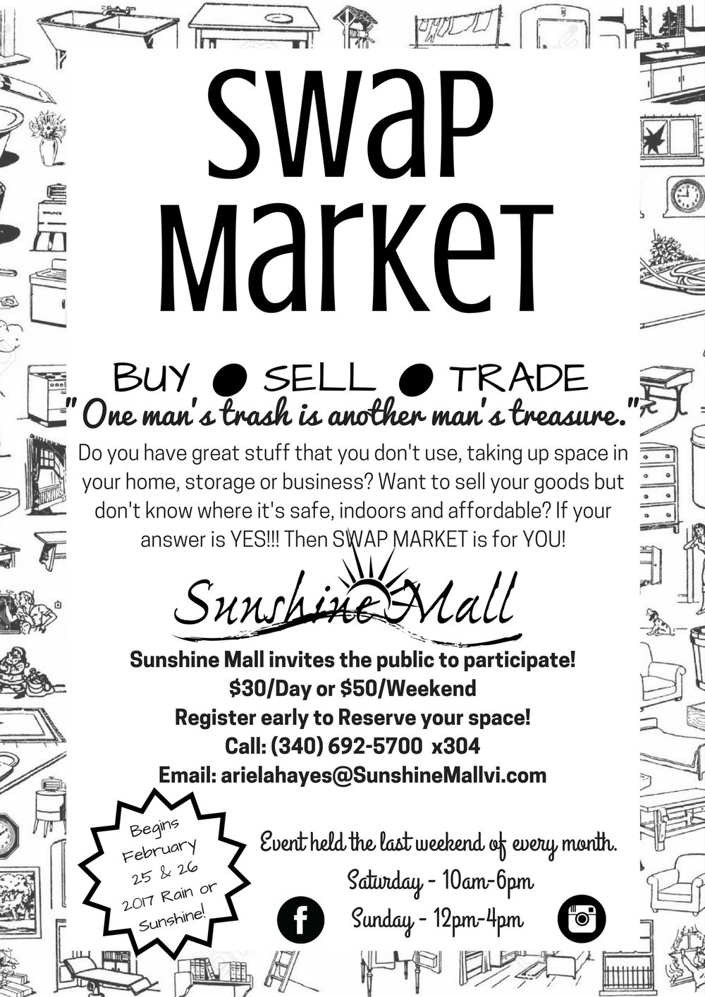 Swap Market Flier