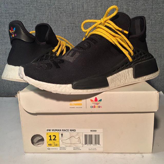 Adidas #NMD #HumanRace #PharrellWilliams Sz.12 #vnds $500 #StayElite