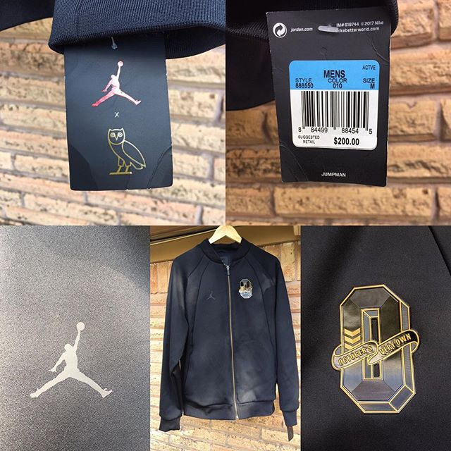 Brand new w/ tags #OvO x #Jordan sz M track jacket from #allstarweekend2017 #NewOrleans pop up shop release $325 firm (PayPal or Quick Pay accepted). Email elitetraderscollective@gmail.com for ordering info. #StayElite