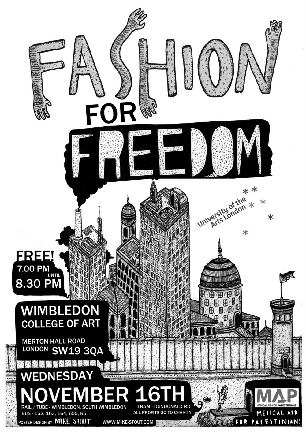 'Fashion For Freedom'