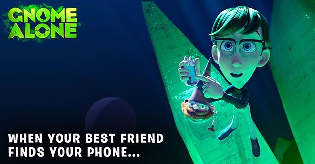 Liam to the rescue!  Tag a friend below who always saves the day.  #GnomeAlone