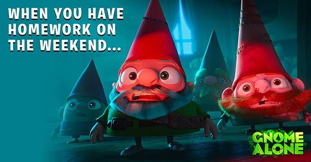 Like if you GNOME the feeling!  #GnomeAlone