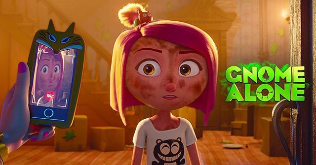 Hey Gnomies! Exciting news - #GnomeAlone will be in theaters on March 2, 2018! 💚