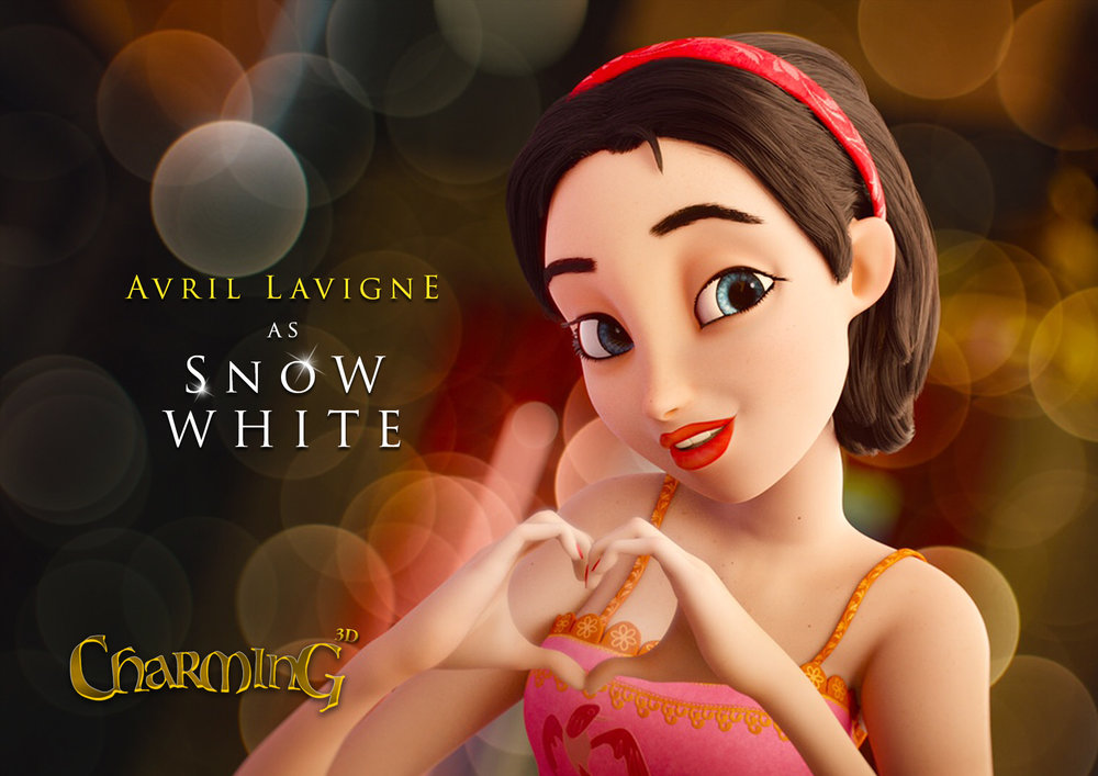 Avril Lavigne as Snow White