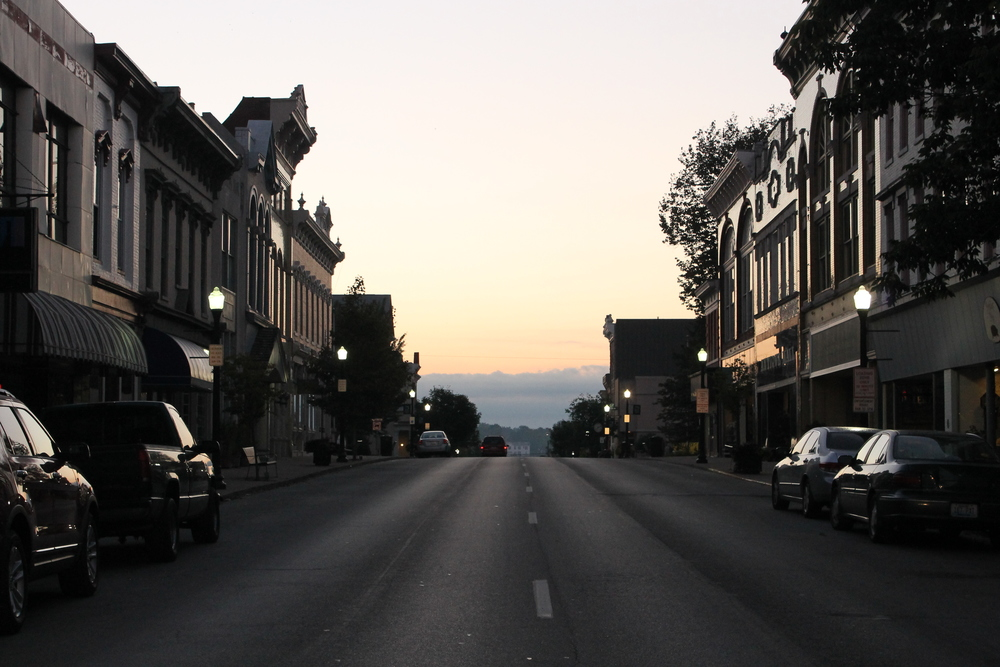 7 A.M. on Main Street in Shelbyville