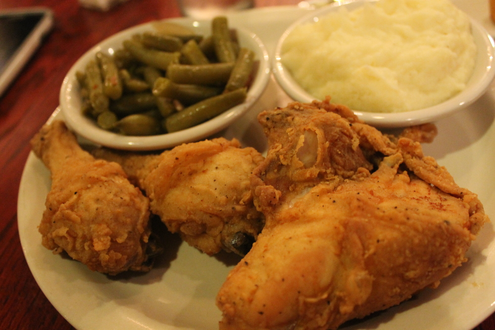 Claudia Saunders' Plate of Fried Deliciousness