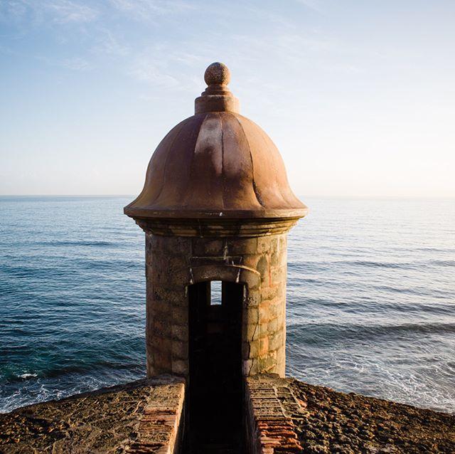Perspectives ~~ #travel #puertorico #forteleza #ocean #veiws