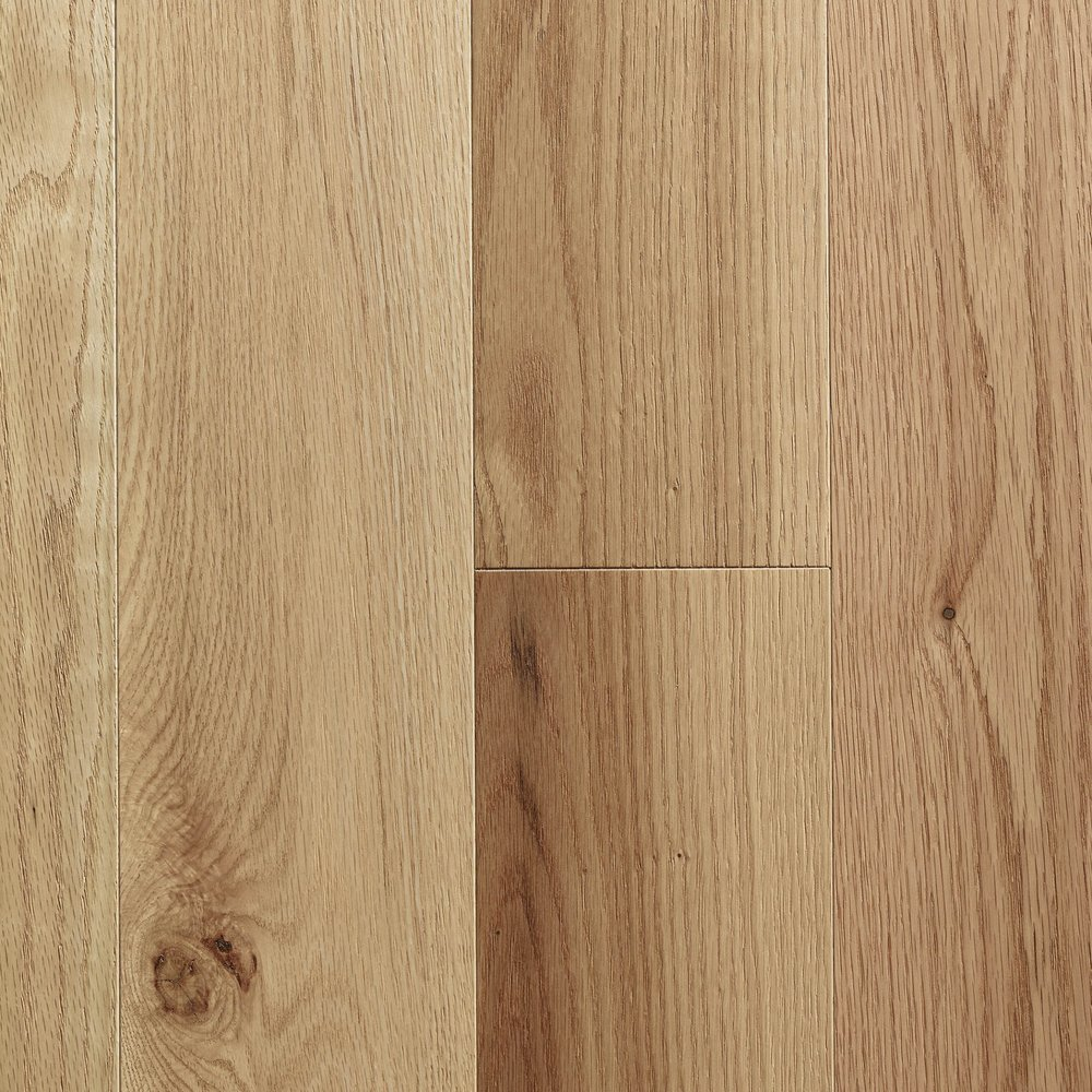 NATURAL - RED OAK