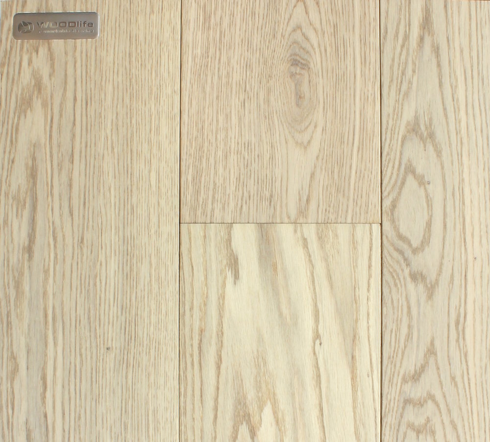 WHITE LACQUERED - WHITE OAK