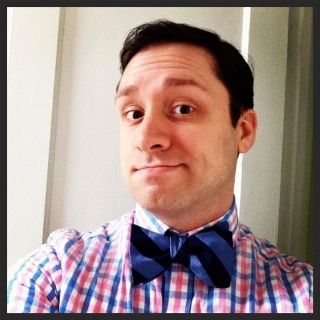 That's me rocking the bow tie. They're cool.