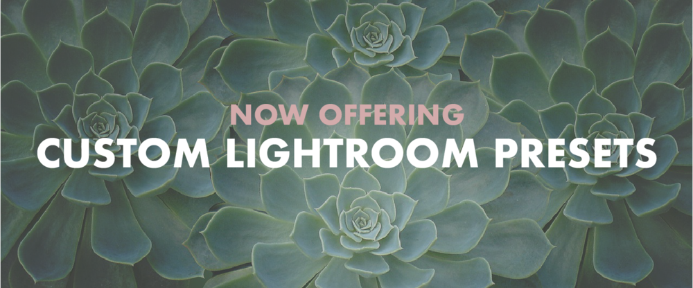 Custom Lightroom Presets